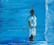 Maroc La Peinture Bleu Galerie Creation